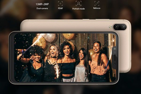 Kamera Selfie Infinix Hot 6X