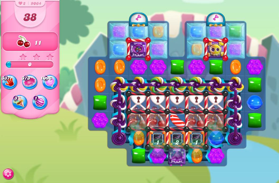 Candy Crush Saga level 9064