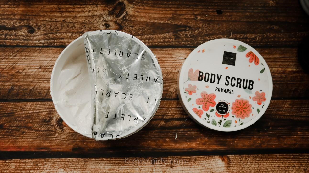 review body scrub scarlett whitening