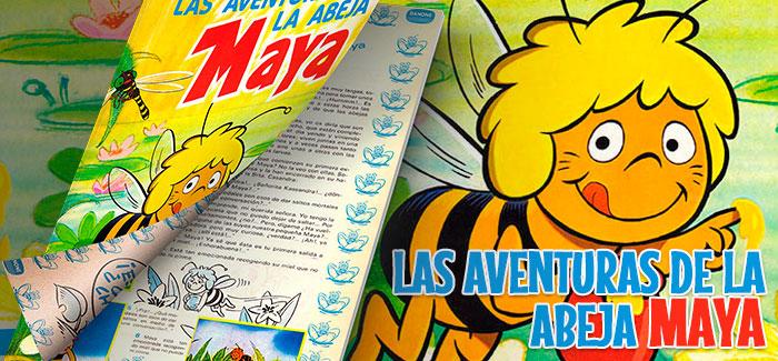 Álbum La abeja Maya Danone 1977