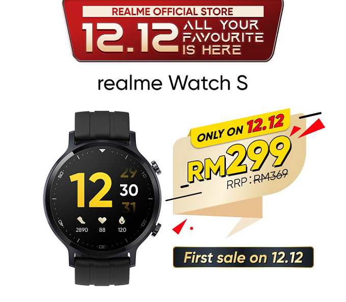 Realme Watch S Discount Price Promo