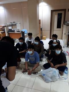 Polisi Tetapkan 11 Tersangka Pengrusakan Kantor Nasdem dan Pembakaran Mobil Ambulance di Makassar