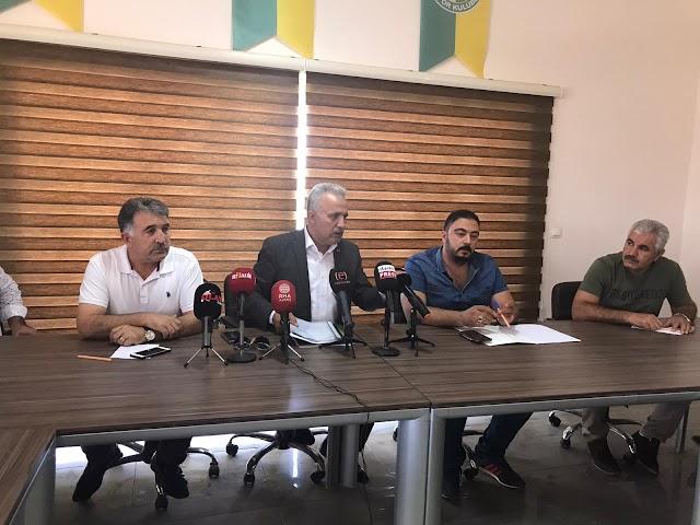 Urfaspor yönetiminden flaş karar