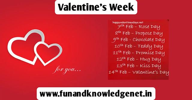Valentine Week 2021