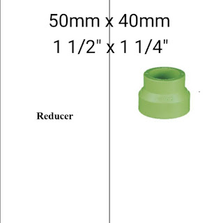 Jual reducer pipa ppr lesso 50mm x 40mm
