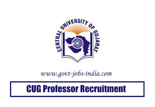 CUG Professor Recruitment 2020