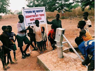 Mr Eazi Borehole