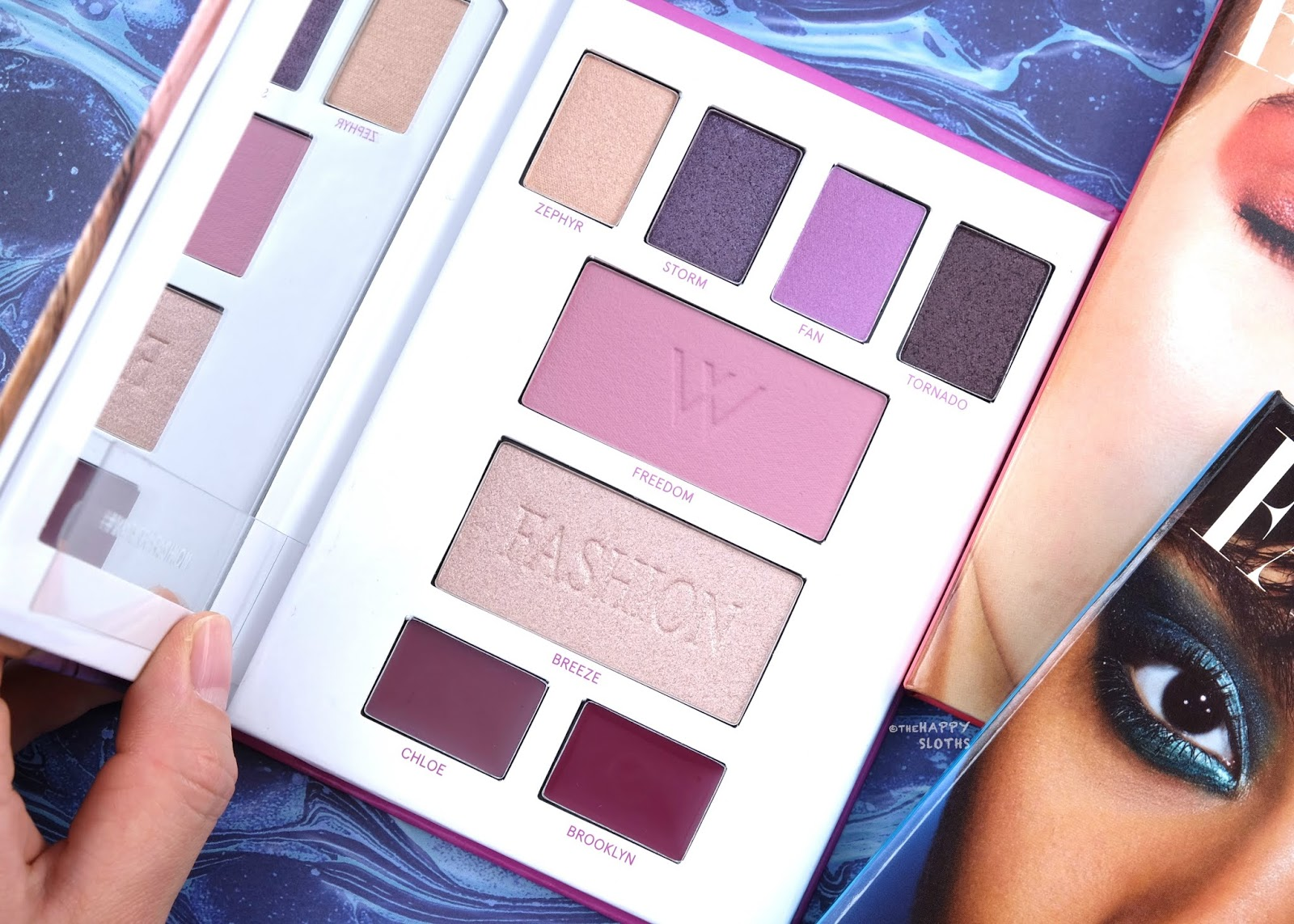 Lise Watier | Watier x Fashion Winds of Liberty Palette: Review and Swatches
