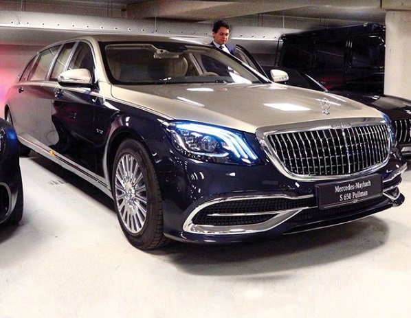Mercedes Maybach S650 Pullman