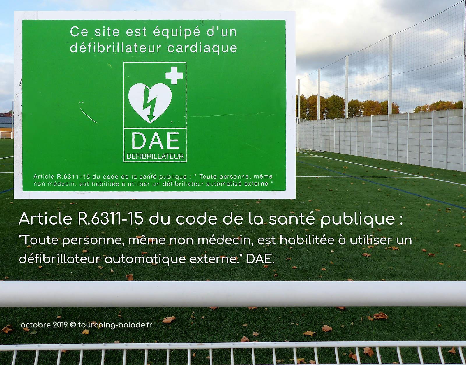 Stade de Foot Houpline, Tourcoing - DAE