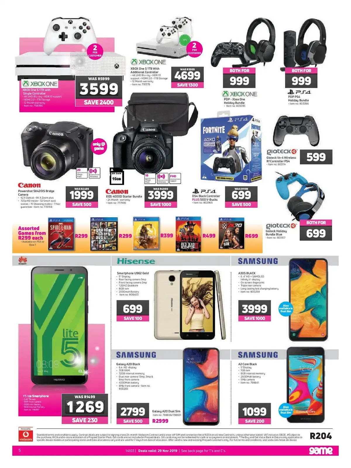 Game Black Friday 2019 Page 5