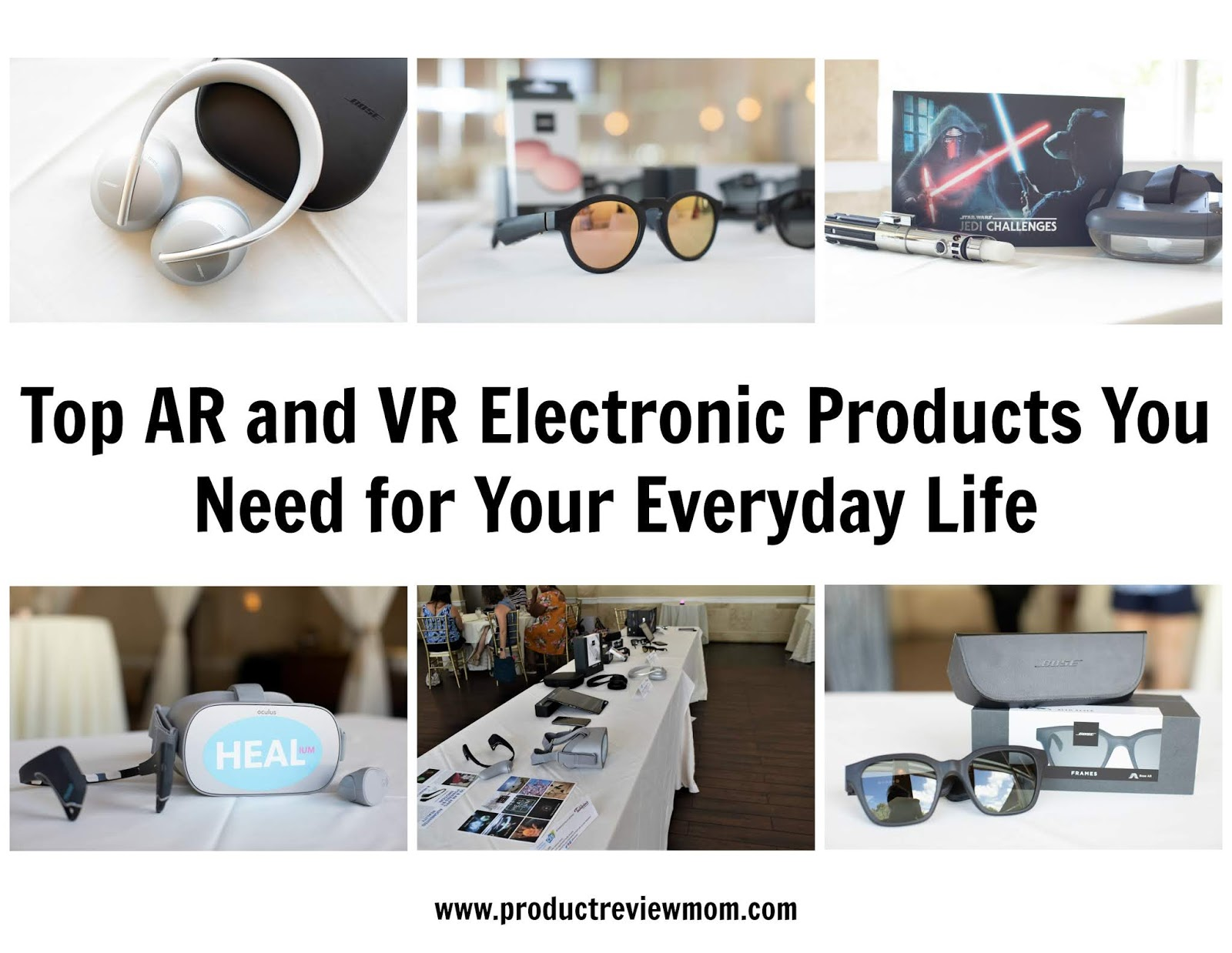 Top AR and VR Electronic Products You Need for Your Everyday Life
