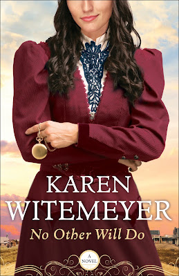 Book review of No Other Will Do by Karen Witemeyer (Bethany House) by papertapepins.