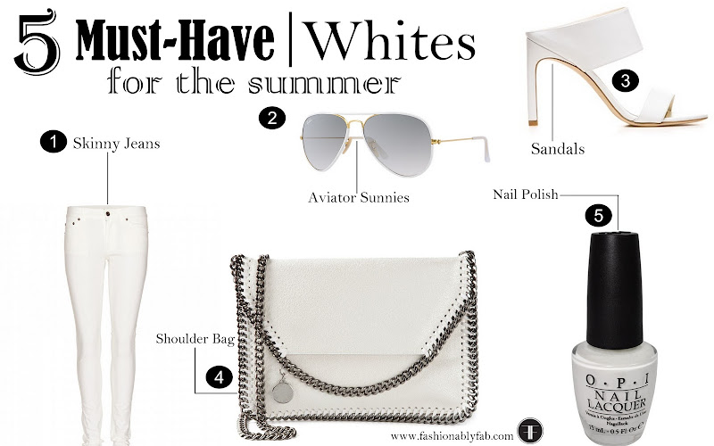 White Summer Essentials, 5 Must-have white Clothing for Summer