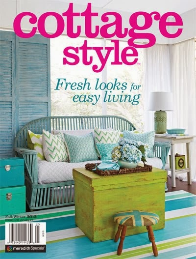 Terrific Cover Of Cottage Style Magazine Home Interior And Landscaping Ponolsignezvosmurscom