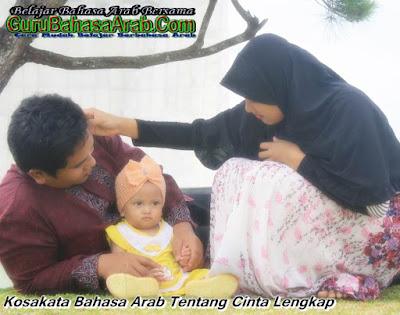Kosakata Bahasa Arab Tentang Cinta Lengkap
