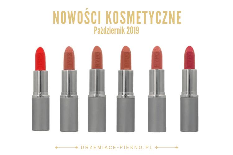 Nowości kosmetyczne Rossmann Październik 2019