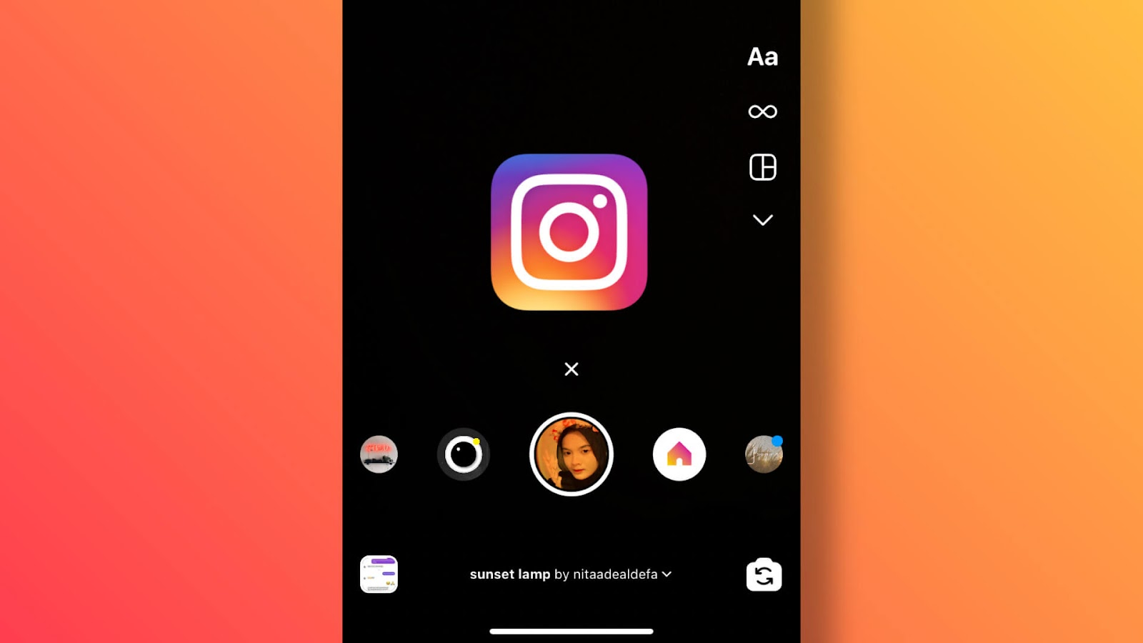 Add Instagram filters on existing photos and videos