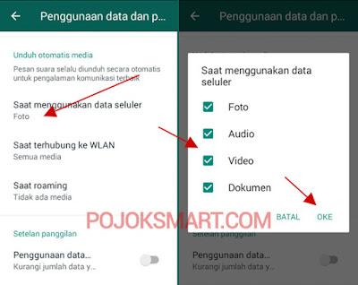 Cara Menonaktifkan Download Otomatis di Whatsapp