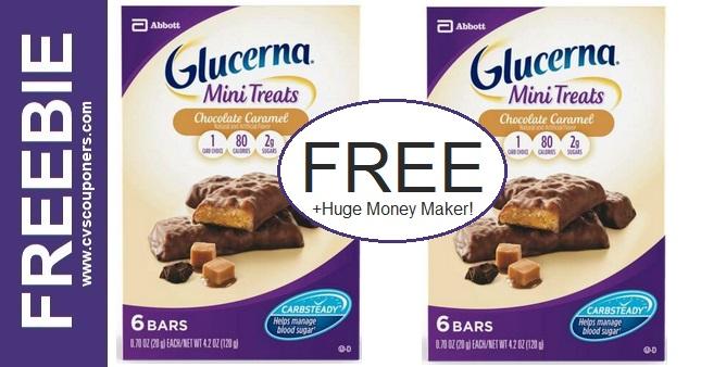 FREE Glucerna Mini Treats CVS Deals 4/11-4/17