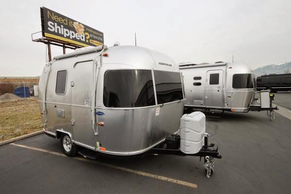 Used Camper Trailers For Sale >> Used RVs Small RV Trailer 2015 Airstream Sport 16' For
