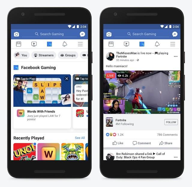 قبل موعدة بشهرين – فيسبوك تطلق تطبيقها الجديد للألعاب.