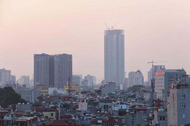 lotte-tower-hanoi-vietnam ハノイのロッテタワー(2013年中旬・建設中)