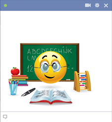 Teacher emoticon