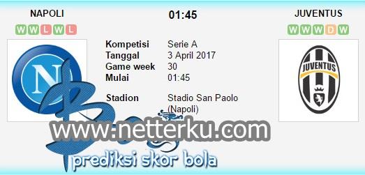 Prediksi Skor Bola Napoli vs Juventus 3 April 2017 - Netterku.com
