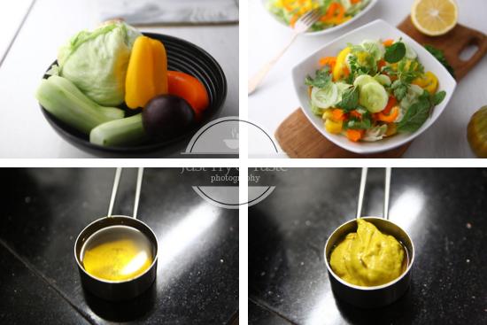 Resep Honey Mustard Salad Dressing JTT