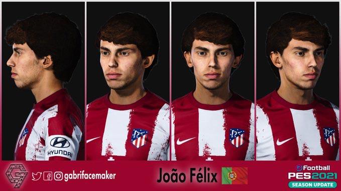 Faces Joao Felix For eFootball PES 2021