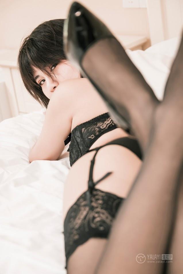 YALAYI雅拉伊 2019.04.09 No.240 黑蝴蝶 宝儿 - idols