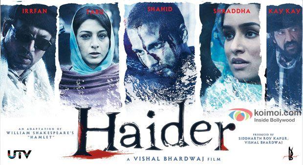Haider (2014) - Shahid Kapoor And Tabu