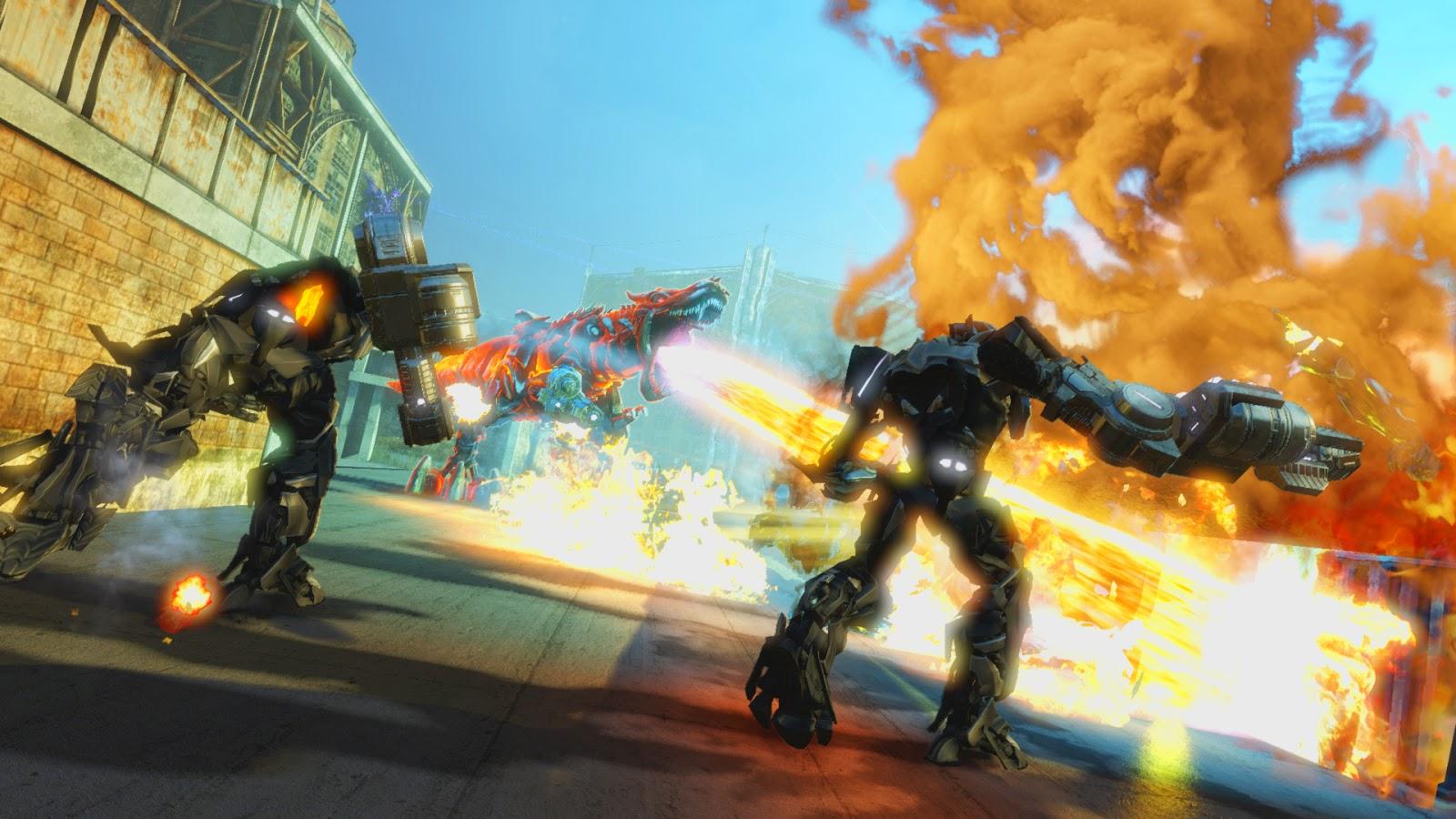 Transformers Rise Of The Dark Spark full español