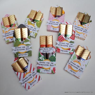 Kleine Abschiedsgeschenke im Briefformat Stampin' Up! www.eris-kreativwerkstatt.blogspot.de
