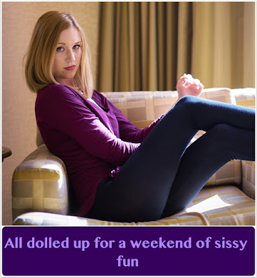 A weekend of Sissy fun TG Caption - Star TG Captions - Crossdressing and Sissy Tales and Captioned images