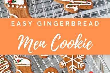 Easy Gingerbread Men Cookie Recipe