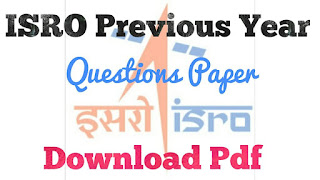 Download ISRO Previous Year Question Paper PDF for Civil Engineering