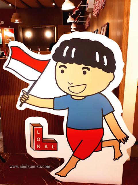 Makanan Indonesia di mall