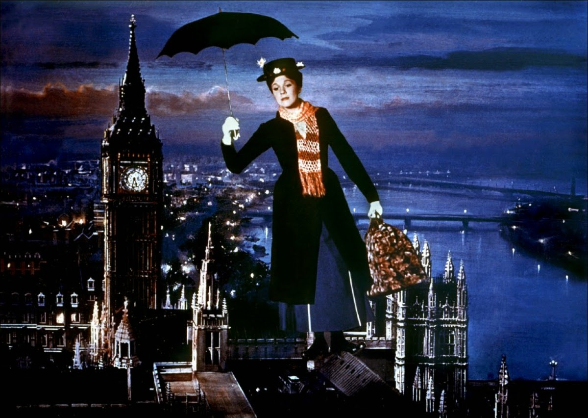 Chemin Cheminée Mary Poppins Cinephagemaniac Mary Poppins