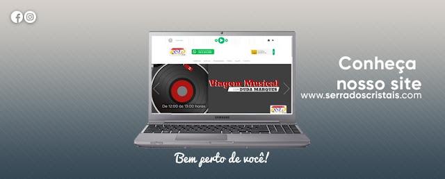 Conheça o novo site da Rádio Serra dos Cristais FM