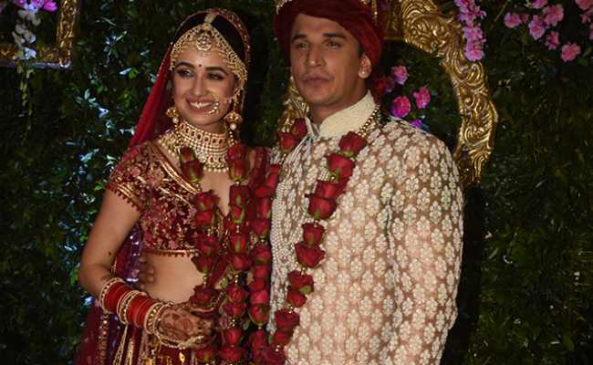 Prince Narula And Yuvika Chaudhary's Dreamy Wedding
