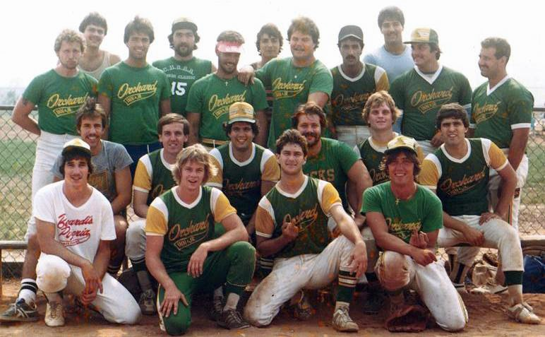 Orchard Inn ASA medium pitch champs 1980