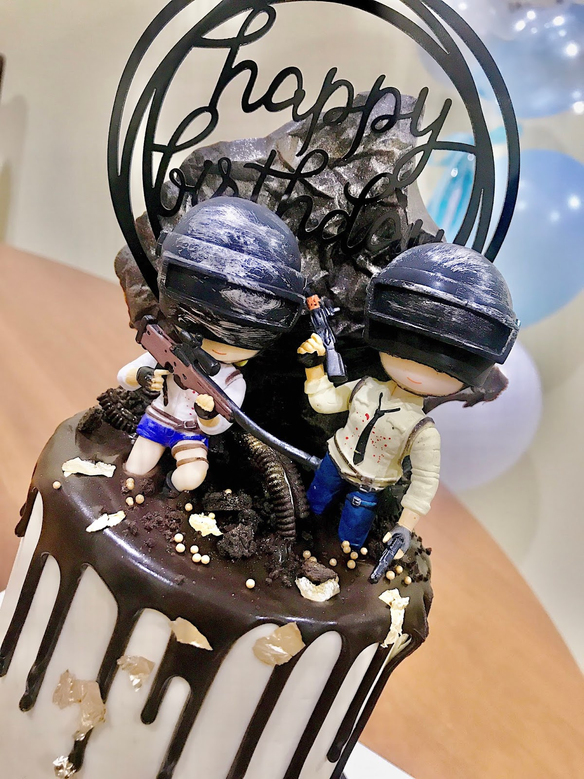 Joilynn Chee Loong S Birthday X Pubg Cake From Bakes Inks