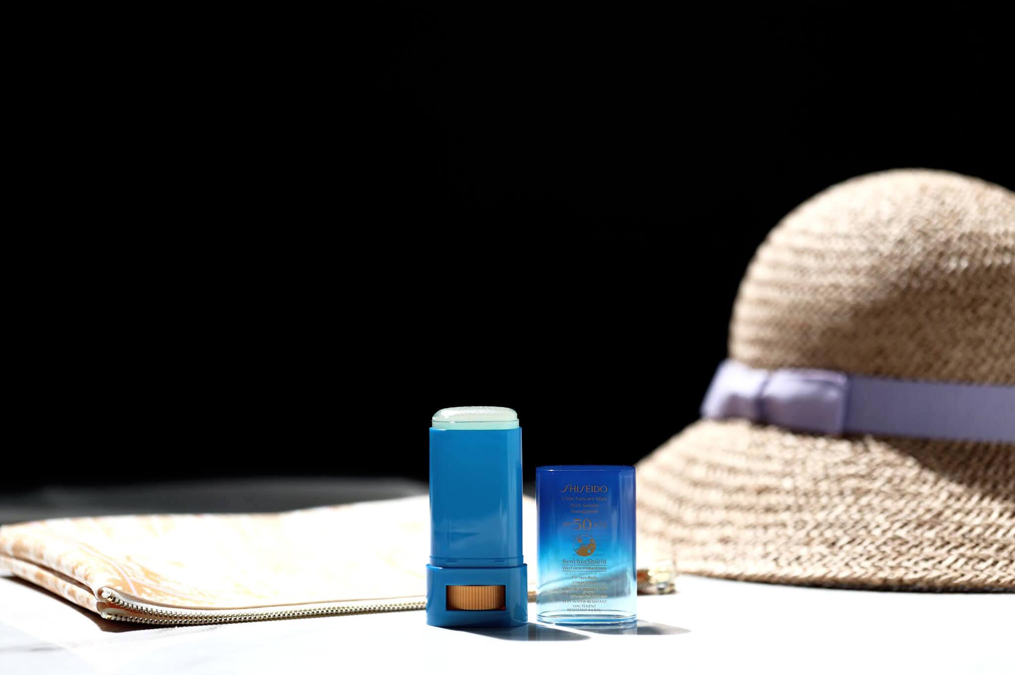 shiseido synchroshield stick solaire wet force