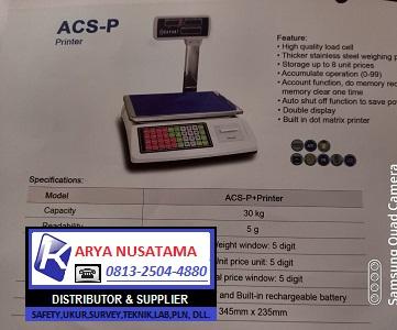 Ready Stok Timbangan Sayaki ACS-P Printer di Banten