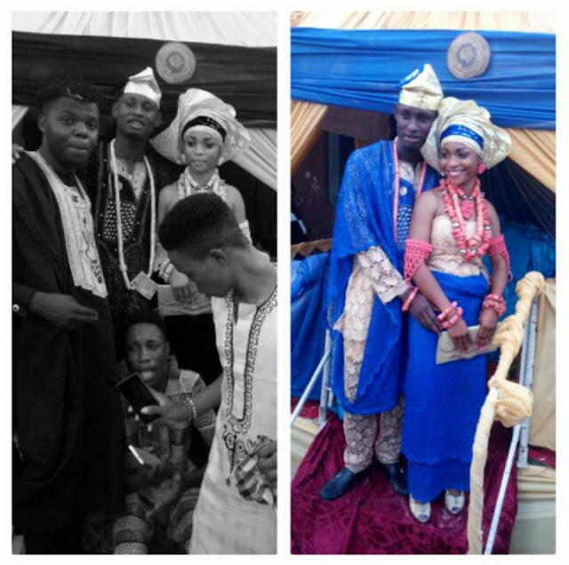 Internet Marketer Snow Prince Weds His Longtime Girlfriend Gift (See Photos)