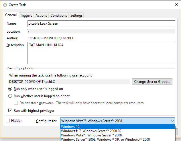 Thủ thuật bỏ qua màn hình khóa Windows 10 mới cập nhật