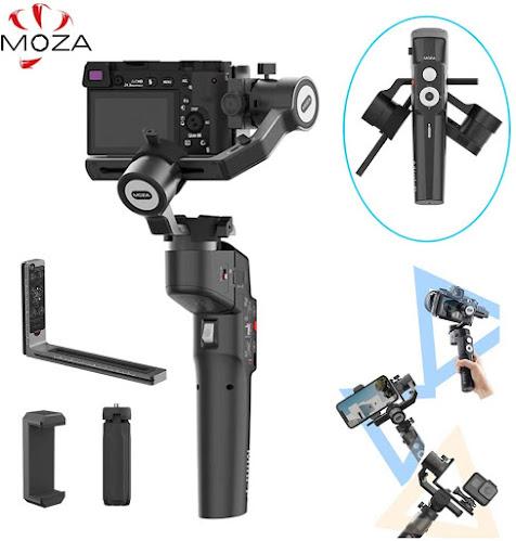 MOZA Mini-P مثبت الكاميرات والهواتف الذكية لعشاق السفر والأكشن