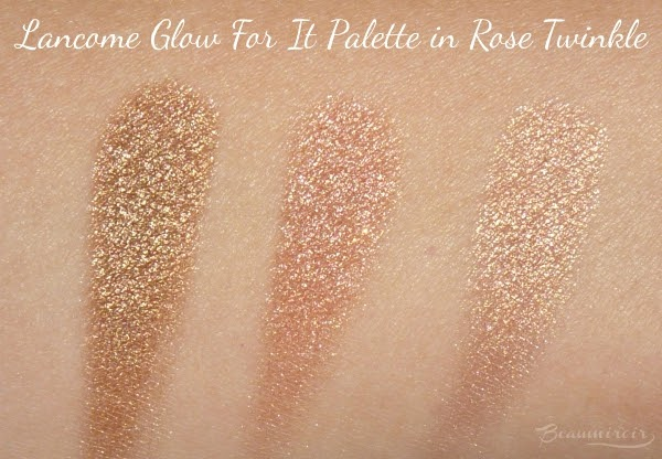 Rose Twinkle swatches